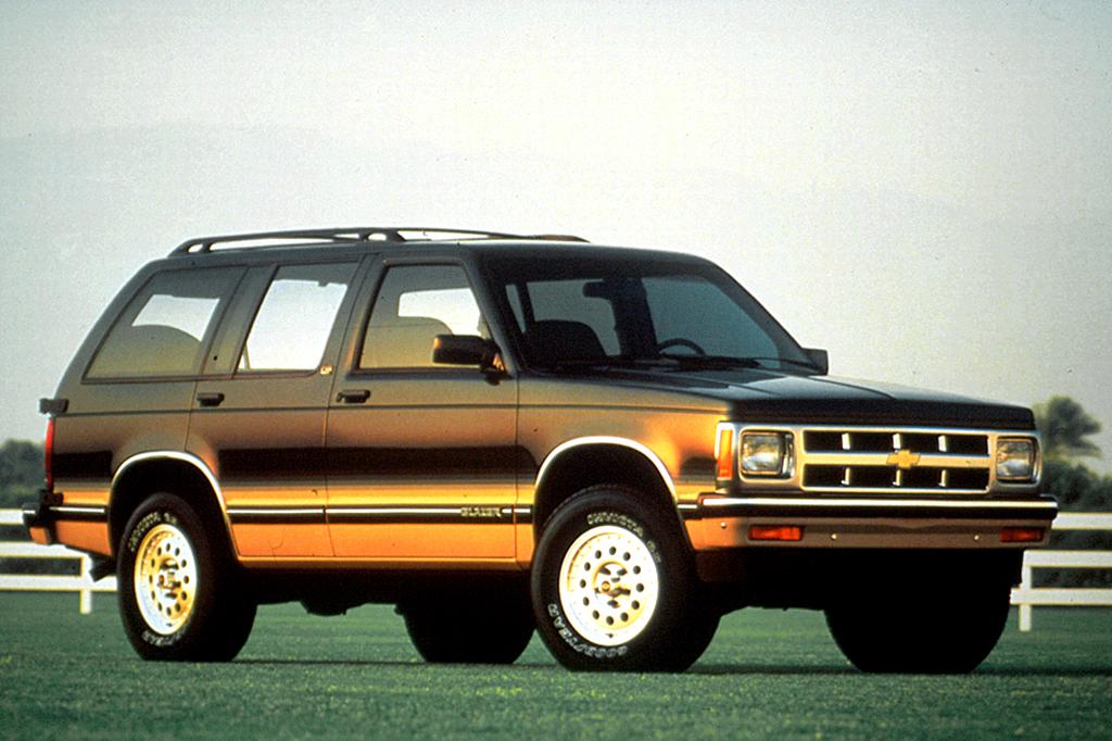 1990-94 Chevrolet S10 Blazer Consumer Guide Auto