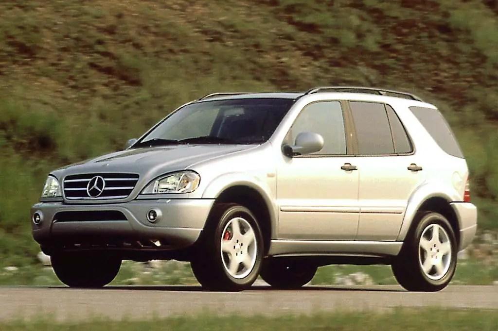 1998-05 Mercedes-Benz M-Class Consumer Guide Auto