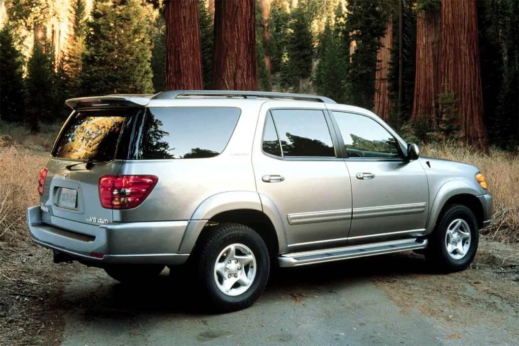 2001-07 Toyota Sequoia Consumer Guide Auto