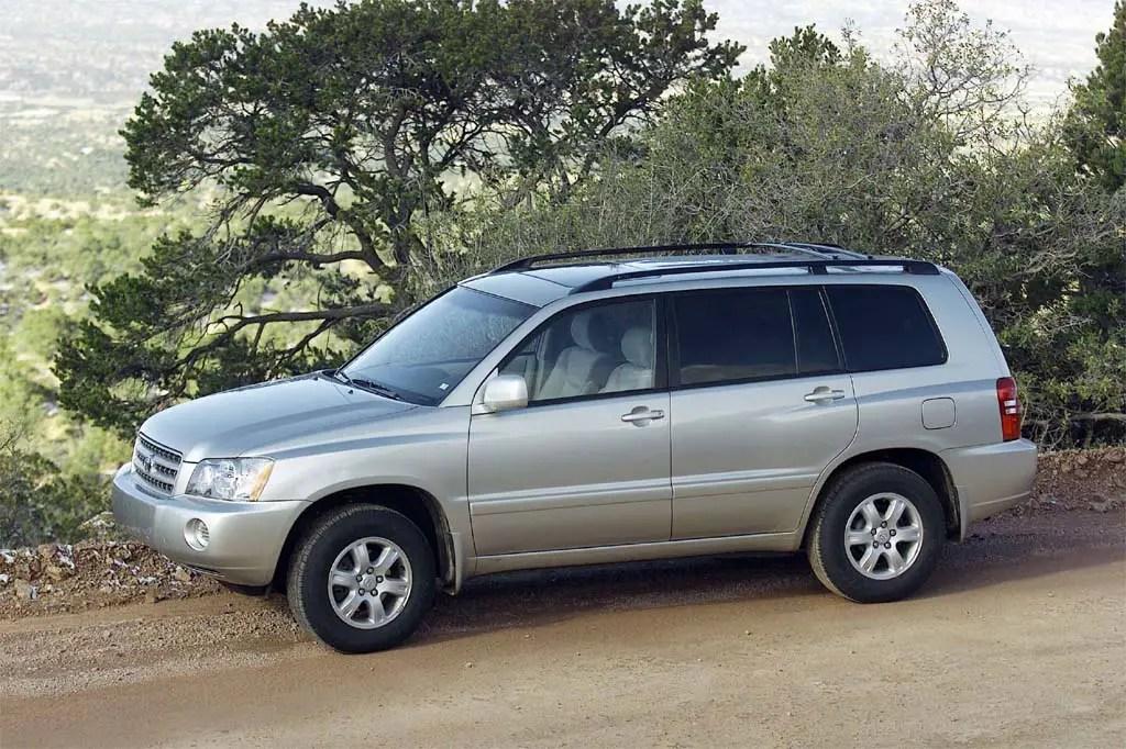2001-07 Toyota Highlander Consumer Guide Auto
