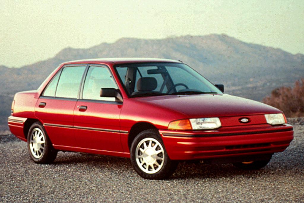1991-96 Ford Escort Consumer Guide Auto