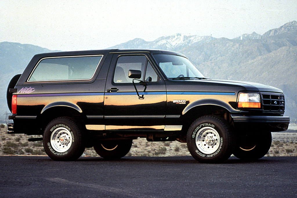 1990-96 Ford Bronco Consumer Guide Auto