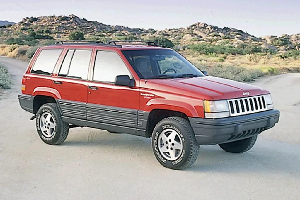 1993-98 Jeep Grand Cherokee Consumer Guide Auto