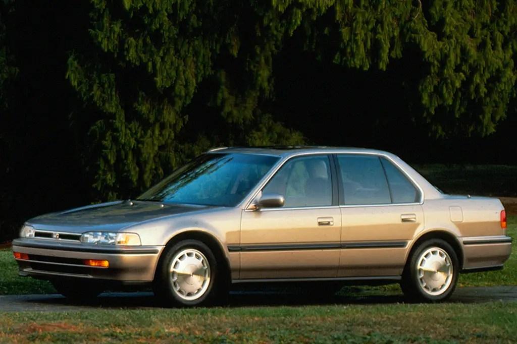 1990-93 Honda Accord Consumer Guide Auto