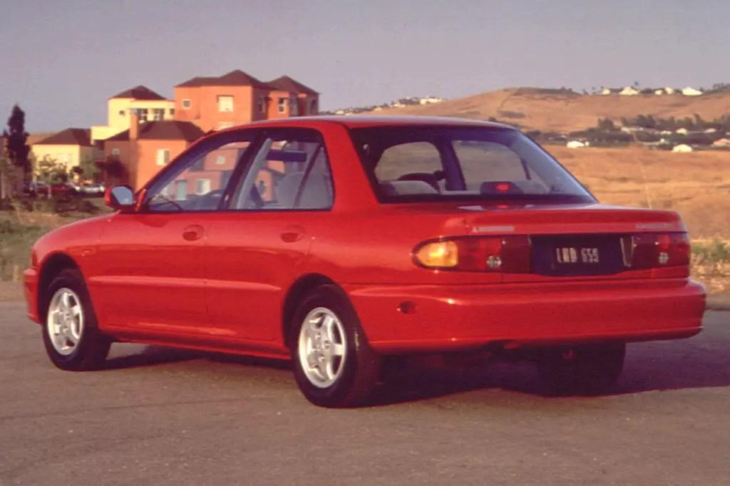1993-96 Mitsubishi Mirage Consumer Guide Auto