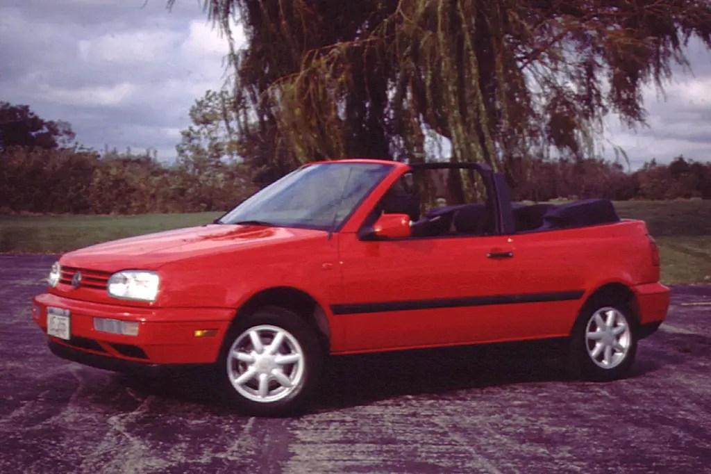 1995-02 Volkswagen Cabrio Consumer Guide Auto