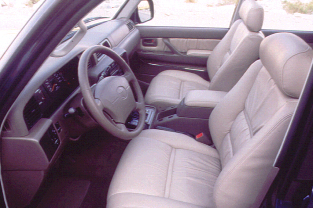 1990-97 Toyota Land Cruiser Consumer Guide Auto