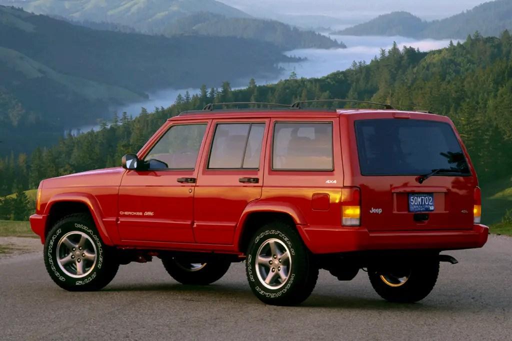 1997-01 Jeep Cherokee Consumer Guide Auto