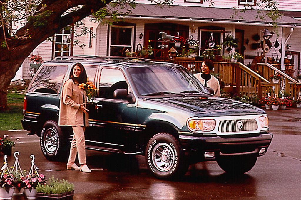 1997-01 Mercury Mountaineer Consumer Guide Auto