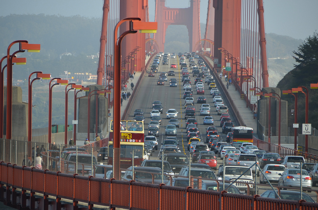 Golden Gate Bridge Will Be Closed To Cars This Weekend For The First