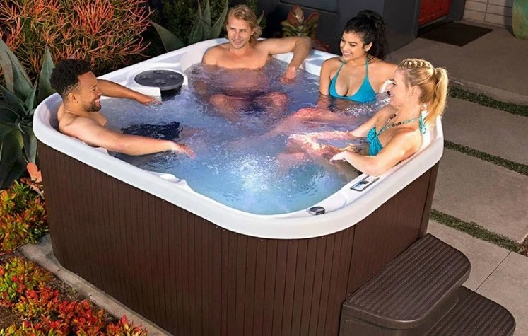 Jacuzzi Whirlpool Unterschied Lifesmart Hot Tubs 50% Off At Home Depot (ships Free!)
