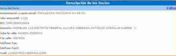 altaimssDescripSocio thumb Tutorial Pre Alta Registro Patronal   IMSS