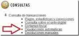 devolucion de impuestos sat thumb Consulta Devolución de Impuesto a Favor en Declaración Anual de Personas Físicas