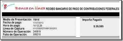 recibo pago referenciado banco thumb Como realizar Pago Referenciado en Portal del Banco   Personas Fisicas y Morales