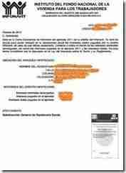 carta intereses infonavit thumb Constancia de Intereses Infonavit para deducirlos en tu Declaracion Anual 2012