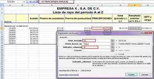 calcular ISR excel 8 thumb Como calcular el ISR por Salarios – Desde Nomina en Excel (Formula BuscarV)