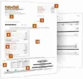 factura nextel thumb Factura Nextel   Descargar Comprobante CFD o XML desde Internet
