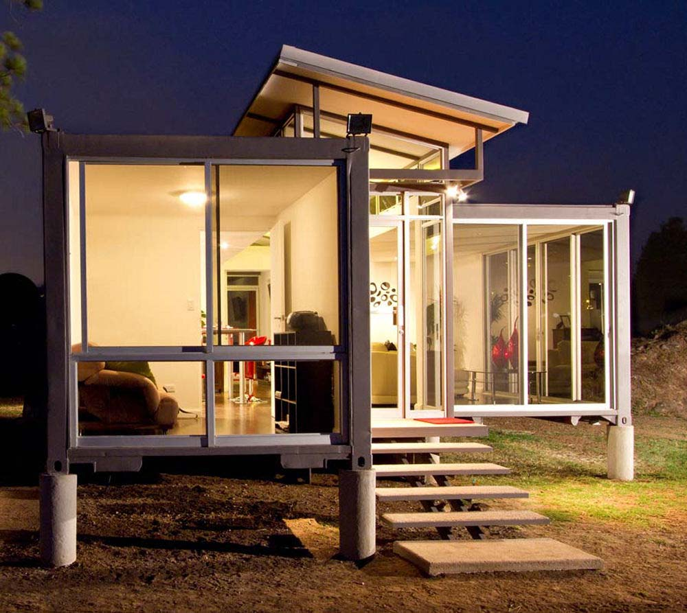 Container Haus Modern Container House Shipping Container Home 40 Foot Container Home
