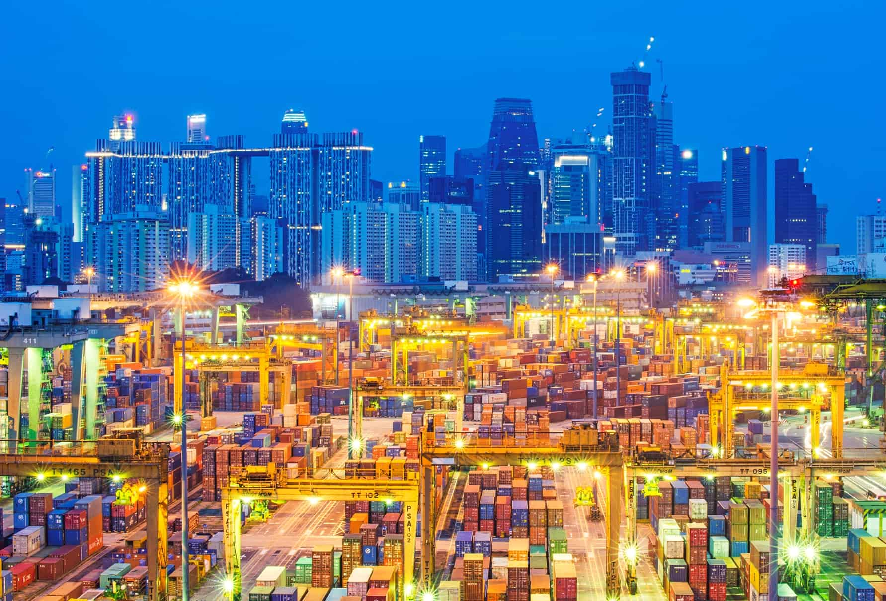 French Fall Wallpaper Psa Singapore S Container Volumes Down 9 Container
