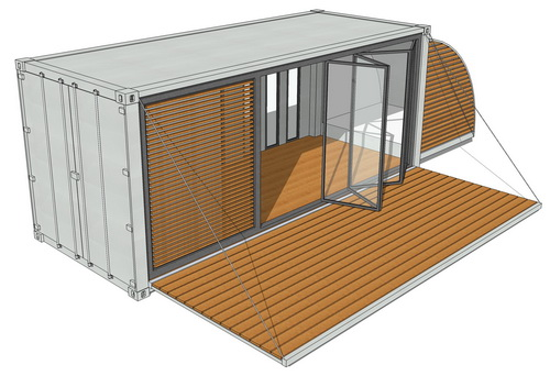 Wohncontainer Gebraucht 20ft - Containerhaus | Containerhome | Containerhouse