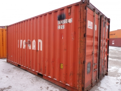 4x 20ft Shipping Containers Wwt Chicago Il