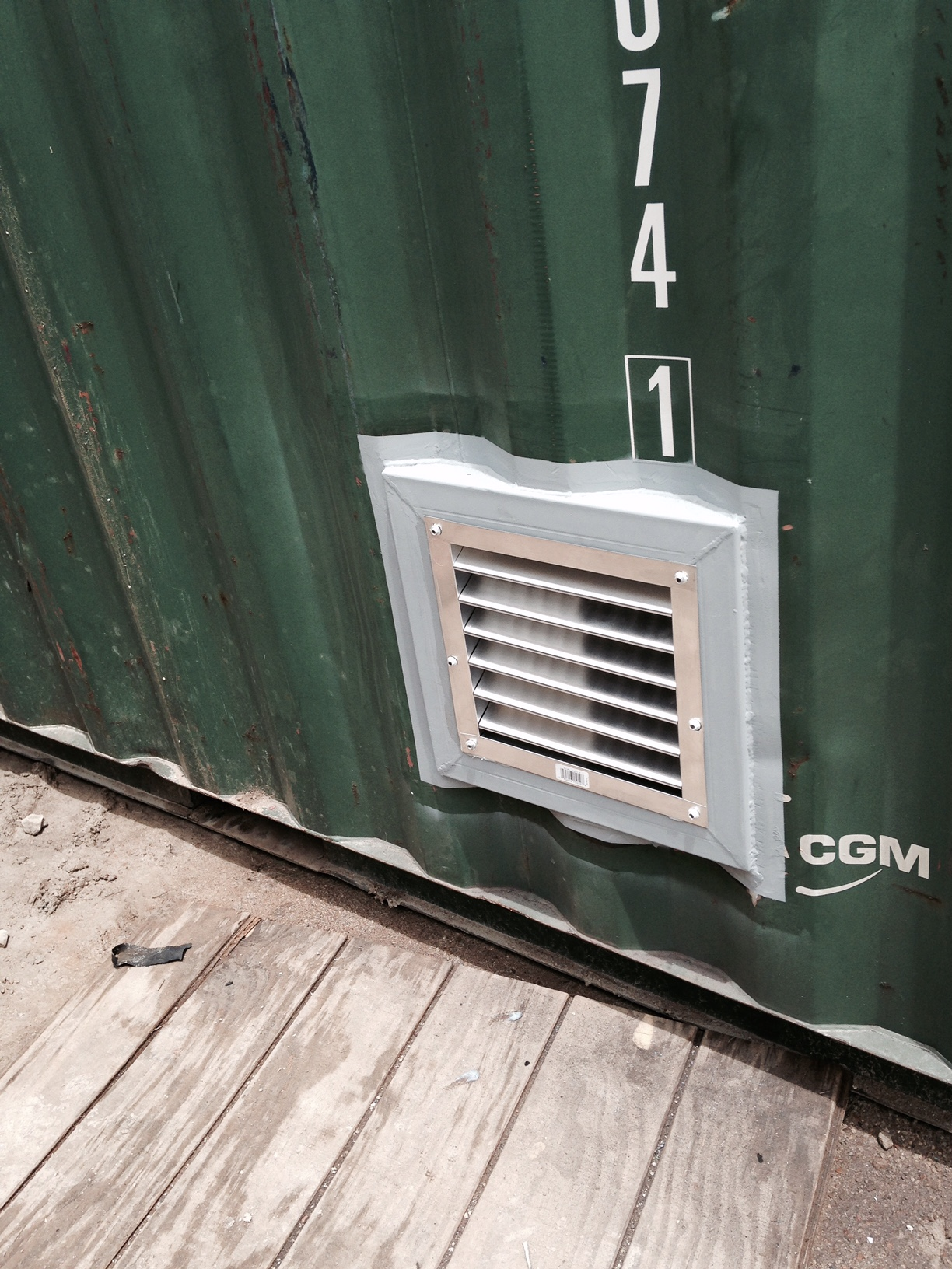 Buy Shelves Shipping Container Side Vents And Whirlybirds For Sale