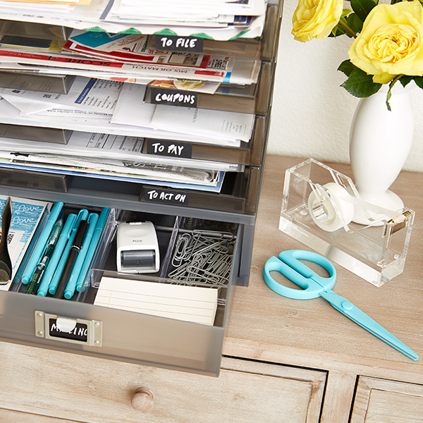 How To Organize Bills  Mail The Container Store