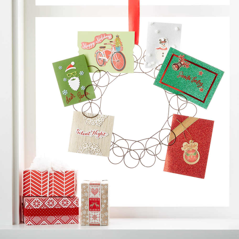 Fullsize Of Christmas Card Holder