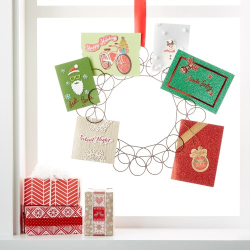 Medium Of Christmas Card Holder