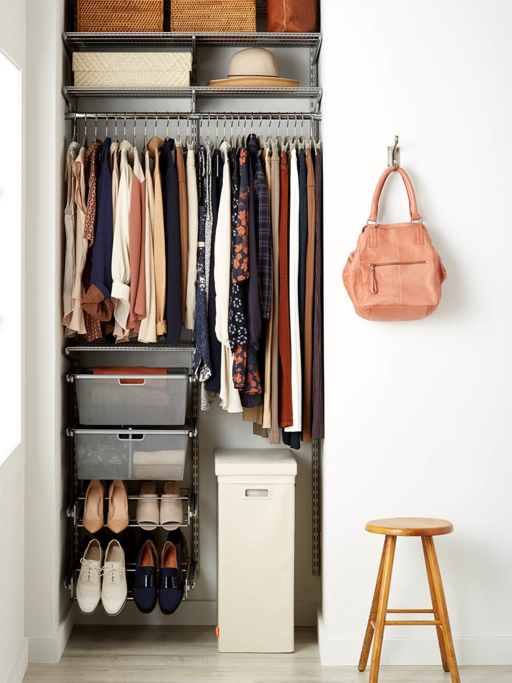 Box Room Wardrobe 10 Small Space Shelving Solutions That Maximize Your Storage
