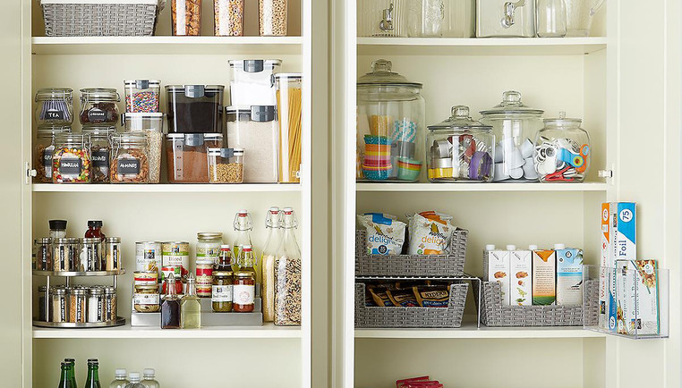 How To Organize Your Kitchen Cabinets The Container Store