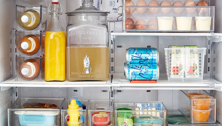 How To Organize Your Refrigerator - Step-By-Step Project The