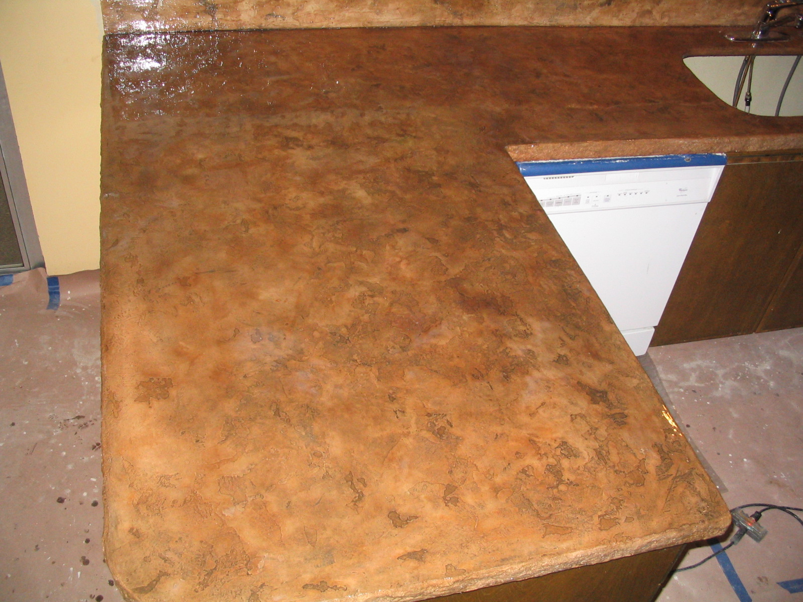 Concrete Countertop Manufacturers Concrete Countertops Gallery Contec Supply