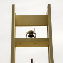 The bell, the vox Dei that calls us to prayer four times a day.