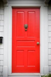 Red front door meaning