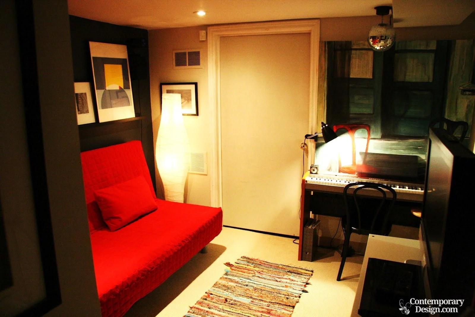 Small basement bedroom ideas