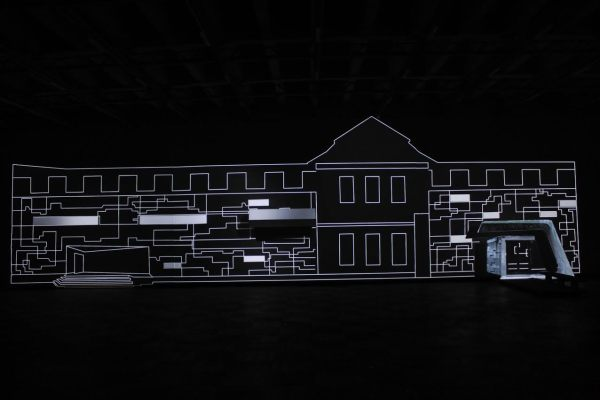 Re-Kreacja – an interactive mapping installation, Elwira Wojtunik, Popesz Csaba Láng / Elektro Moon Vision