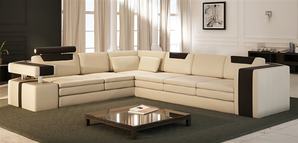 Precios De Sofas Esquineros Vista Modern Italian Design Leather Sectional Sofa Cp-9001