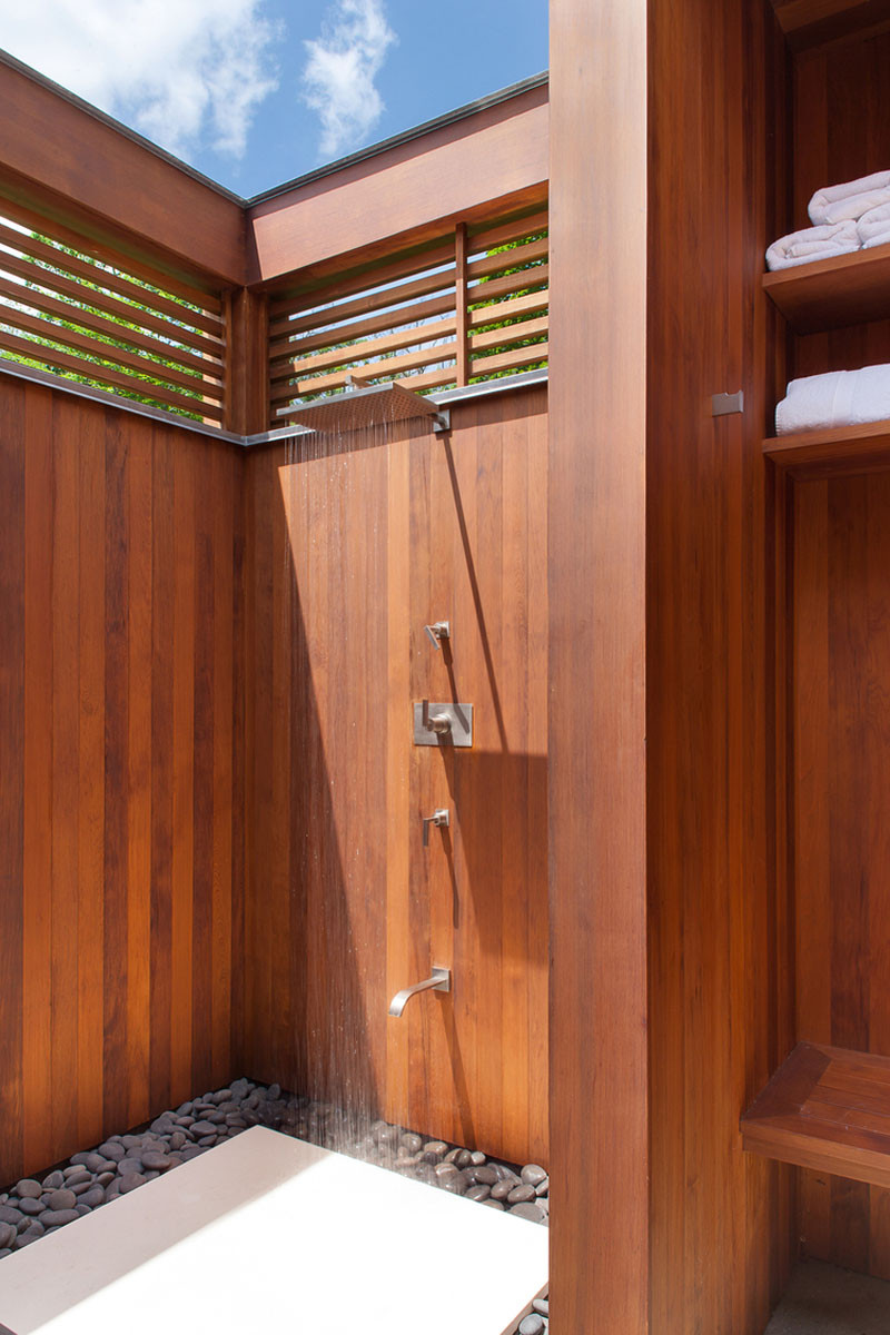 Outdoor Shower Tumblr 10 Excellent Examples Of Outdoor Shower Designs Contemporist