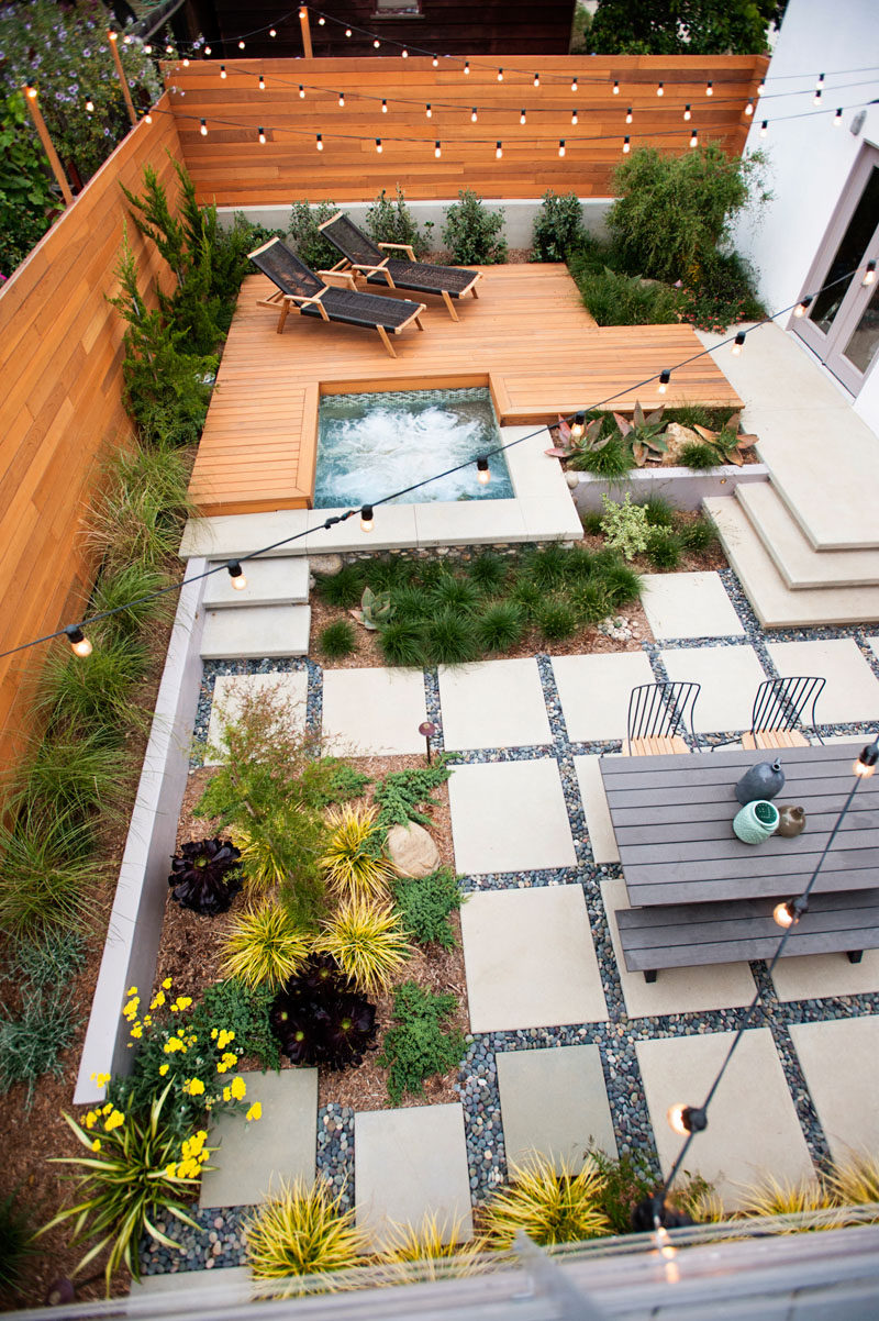 Decoration Terrasse Simple 16 Inspirational Backyard Landscape Designs As Seen From Above