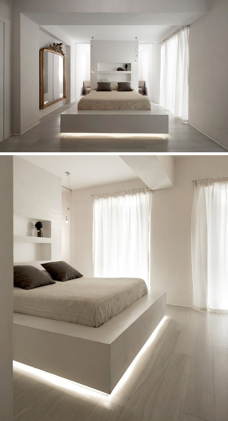 Where To Get Led Light Strips 9 Examples Of Beds With Hidden Lighting Underneath