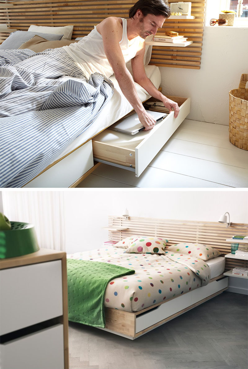 Ikea Mandal Ideas 9 Ideas For Under The Bed Storage Contemporist