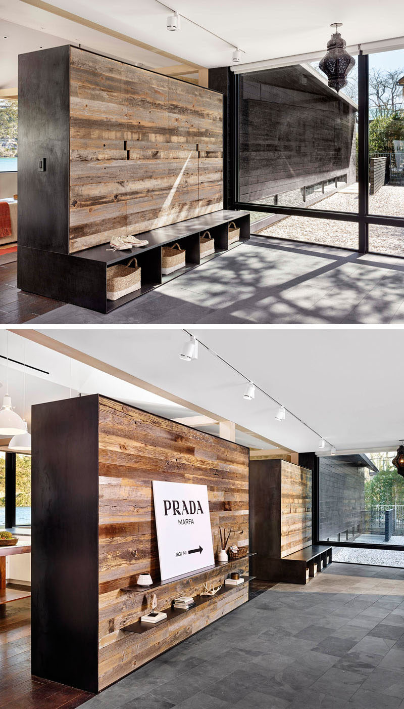 Fireplace Room Divider 10 Examples Of Multi-functional Room Dividers | Contemporist