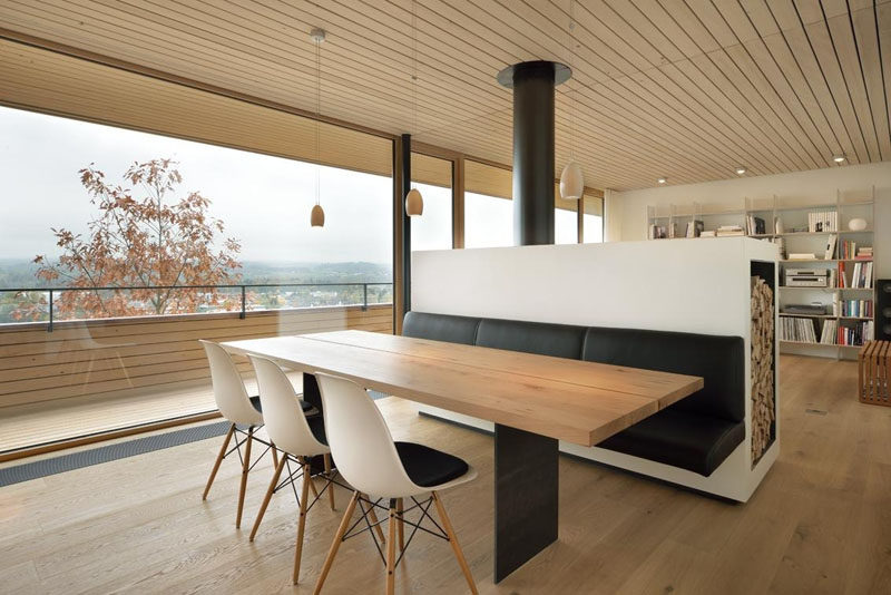 Essbank Mit Lehne Dining Room Design Idea - Use Built-in Banquette Seating