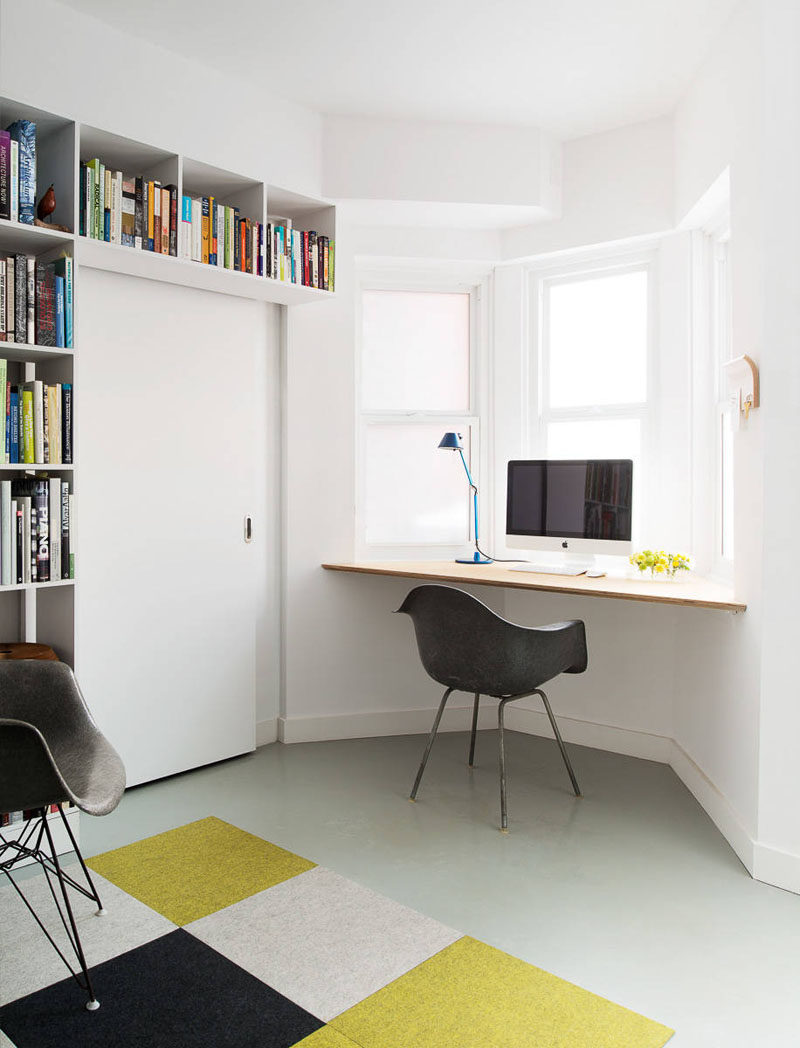 Window Wall Designs 16 Wall Desk Ideas That Are Great For Small Spaces Contemporist