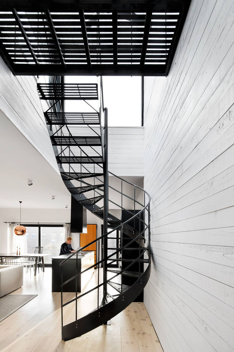 Staircases In Homes 16 Modern Spiral Staircases Found In Homes Around The World