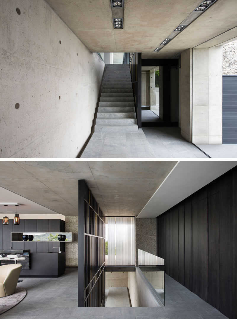 Interior Partition This Concrete House Was Designed With Amazing Views