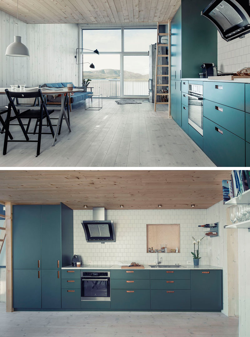 Teal Blue Kitchen Cabinets Kitchen Color Inspiration - 12 Shades Of Blue Cabinets