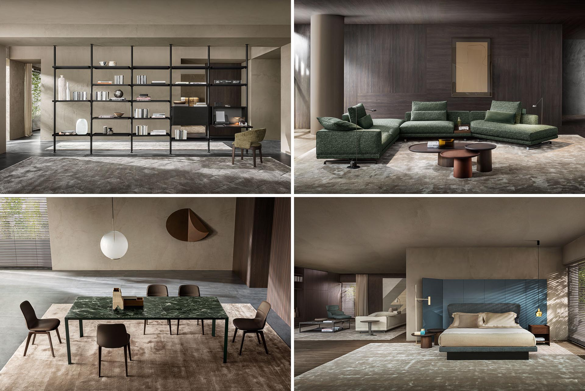 Molteni Group The Leading Industrial Group In The High End Furniture Sector Launches It S First Ecommerce In The United States Market
