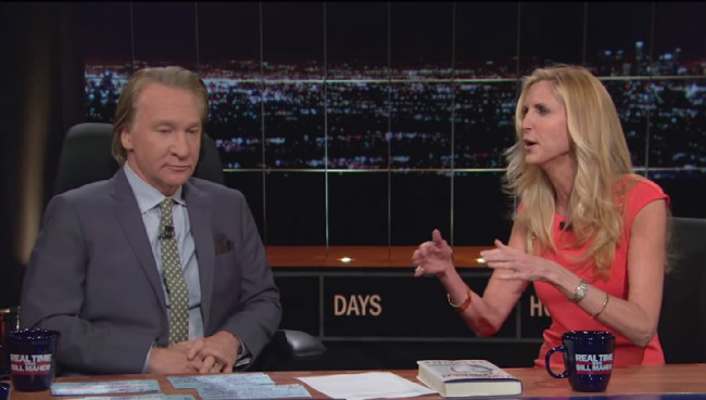 bill maher ann coulteredited